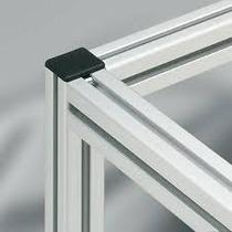 Tapas Para Perfil De Aluminio 30x30