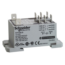 Enclosed Power Relay Din Rail Or Bottom Flange 8 Square