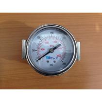 Manometro 0 - 300 Psi 0 - 2000 Kpa Nuevos Para Compresor