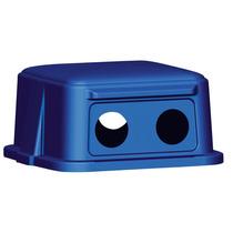 Cubierta Reciclar Botellas Y Latas Polietileno Azul 25-7/8