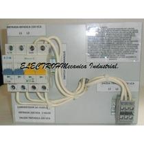 Convertidor De Fases Bifasico A Trifasico 220 Volts 7.5 Hp