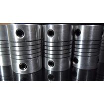 Cople O Acoplador Flexible De 1/4 (6.35mm) A1/4 Cnc Reprap