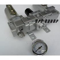 1/2 Combinación Regulador De Filtro De Aire Lubricador Líne