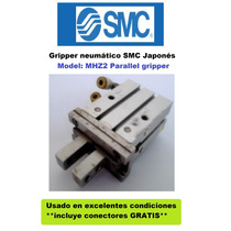 Gripper Neumático Smc Brazo Robot Plc Festo Mecatronica