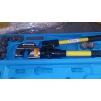 Pinzas Ponchadora Hidraulica Para Cable Calibre 1/0 A 750