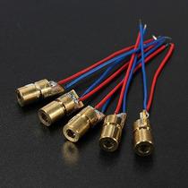 Lote De 5 Modulos Laser 650nm 5mw 5v 6mm, Nuevos