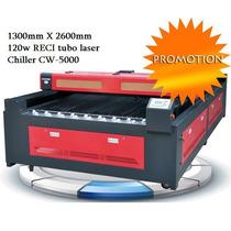Equipo Laser Corte Y Grabado Industrial 260x130cm 120w Reci