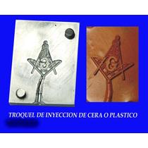 Troquel De Inyeccion De Cera Y Plastico, Escudo Mazon