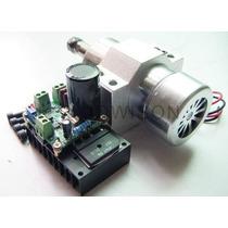 Motor Fresador Para Router Cnc, Fuente Y Control Vel., Nuevo