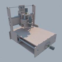 Router Cnc (planos) Para Construir