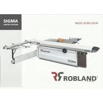 Sierra Escuadradora Marca Robland Modelo Sigma