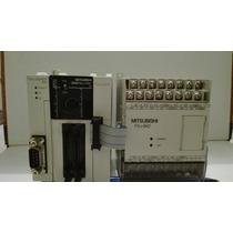 Plc Mitsubishi Melsec Fx3uc-32mt Con Modulo Analogo Fx2n-8ad