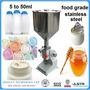 Maquina Llenadora Manual ( 5-50 Ml ) Líquidos Biscosos