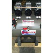 Compresor 3hp Silencioso Libre De Aceite 300 Lts
