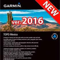 Nuevo Mapa Garmin Topo México 2016 Nüvi Y Otros,envío Gratis