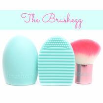Limpiador De Brochas Maquillaje Brush Egg