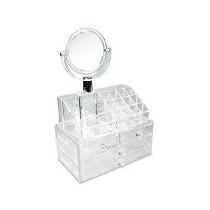 Organizador De Cosmetiocs Con Espejo - Envio Gratis