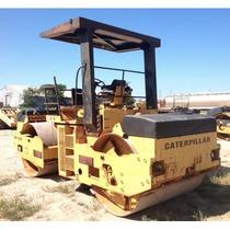 Compactador Caterpillar Cb534 Cat Vibro Doble Asfalto Aplana