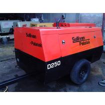 Compresor 250pcm Sullivan Palatek Motor Jhondeere Trabajando