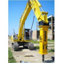 Martillo Hidraulico Ingles S230 Para Excavadora Con Garantia