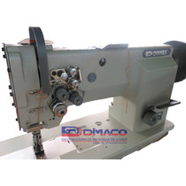 Máquina 2 Agujas, Gancho Jumbo, Triple Avance Dk-4420 Dinnek