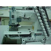 Maquina De Coser Resortera 12 Agujas Hilo Elastico C Puller