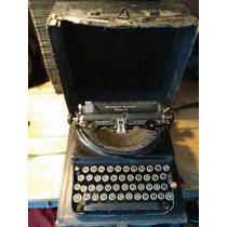 Antigua Máquina De Escribir Remington Portable Número 5