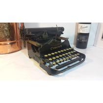 Máquina Escribir Antigua, Corona, Colección Vintage