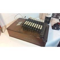 Sumadora, Calculadora Antigua, Funcional ! Colección Vintage