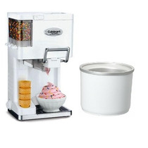 Maquina Cuisinart De Helado Suave Yogurt Sabores Toppings
