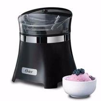 Máquina Para Hacer Helados Nieve Yogurt Sorbete Oster Negro
