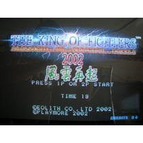 Video Juegos Arcade Neo Geo Kof Kof 2002 Puzzle Bobble