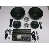 Kit Audio, Amplificador, Sonido Ideal Para Cajones O Rockola