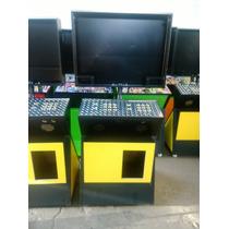 Mueble Para Monitor De 23 Pulgadas Con Bastidor Metalico