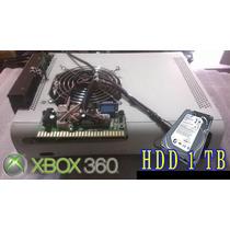 Xbox 360 Maquinita 1 Tb + 2 Controles + 2 Bases + Pulsador