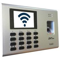 Reloj Checador Wifi/batería/control De Acceso
