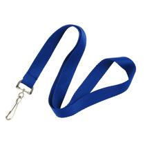 Cordón Porta Gafete - Paquete Con 50 Piezas - Azul
