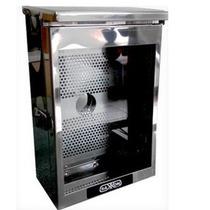 Caja De Proteccion-saxxon Box02-acero Inoxidable-gris +c+