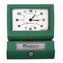 125qr4 Reloj Checador Impresión Manual/margen Estándar Pre-d