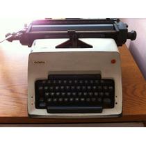 Maquina De Escribir Olympia Manual Buenas Condiciones Remato
