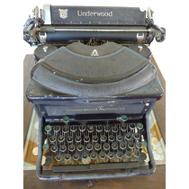 Máquina De Escribir Underwood Noiseless, Antigua