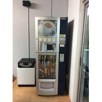 Máquina Vending Combi Saeco, Café, Refrescos, Botana Remato