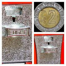 Monedero 2 Pesos Chiclera Eagle Original Vending Maquinita.