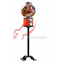 Maquina Chiclera Vending 1 Y 2 Pesos + Base Envío Gratis