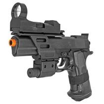 Marcadora Airsoft Colt Combat Commander Cybergun Spring