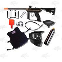Marcadora Spyder Mr100 Chaleco Gotcha Paintball Xtremechiwas