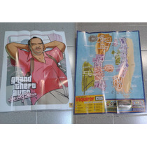 Póster/mapa De Grand Theft Auto Vice City Stories