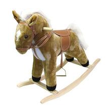 Happy Trails Felpa Mecedora Animal-caballos