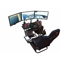 Volair Sim Silla Simulador De Carreras Y Vuelo - Envíogratis