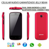 Celular Barato Dual Sim Android Wifi Redes Sociales, Touch